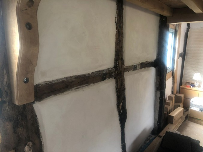 Beautiful new lime plaster panels